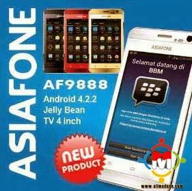 Spesifikasi dan Harga Asiafone AF9888
