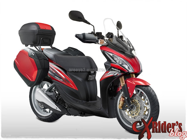 Modifikasi Motor Honda Spacy Touring