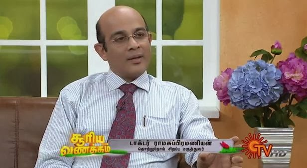 Virundhinar Pakkam – Sun TV Show 20-02-2014 Infectious Disease Specialist Dr.Ram Subramanian