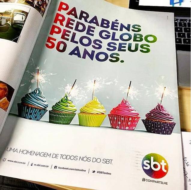 Parabenizando a Rede Globo