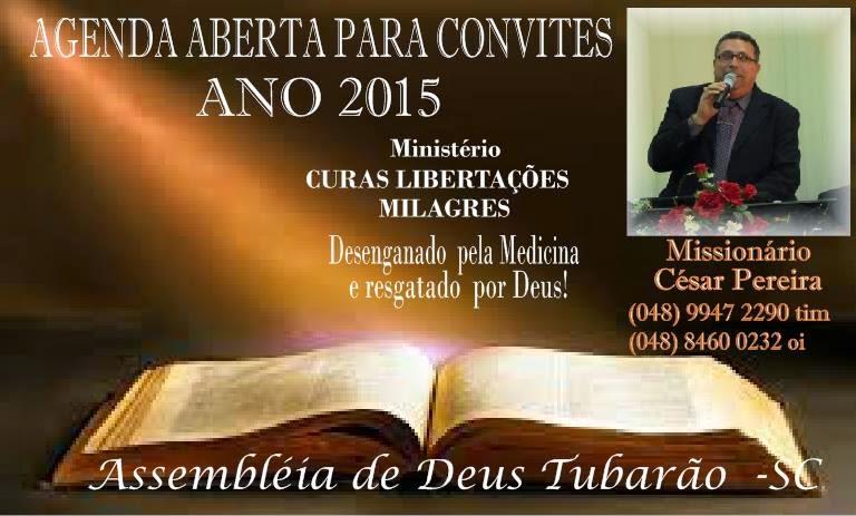 Missionario Cesar Pereira - O Grande Livramento