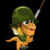 Dragon soldado bebe