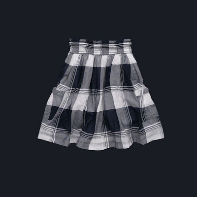 Plaid Feminine Skirt
