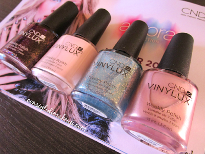 Aurora Collection Inverno 2015 - CND Vinylux [tutti gli swatch]