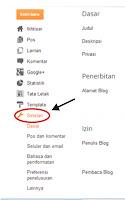 mengganti email blogspot