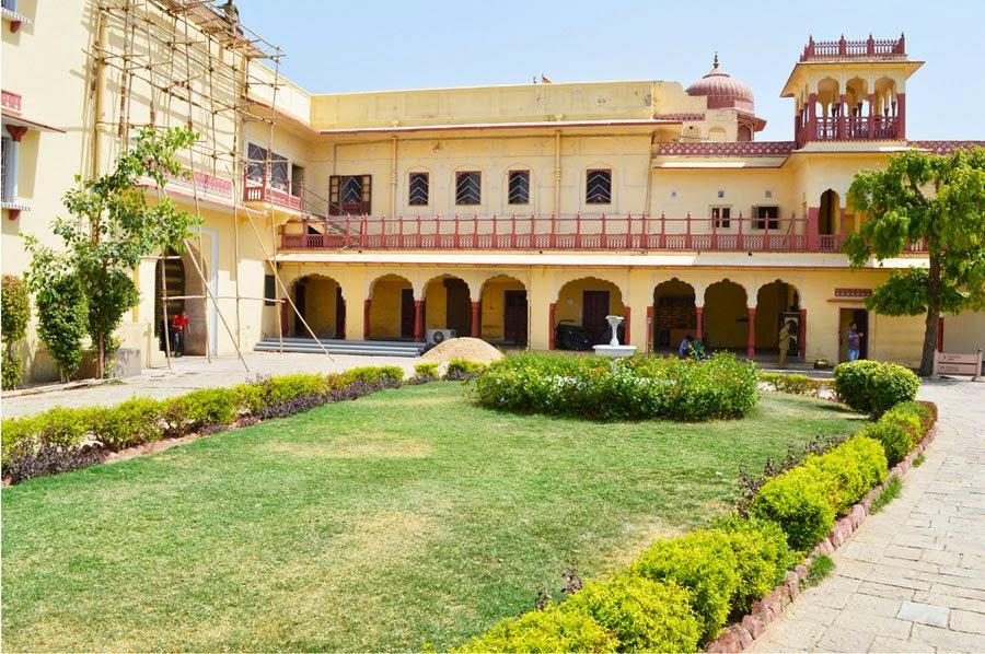 City Palace Garden