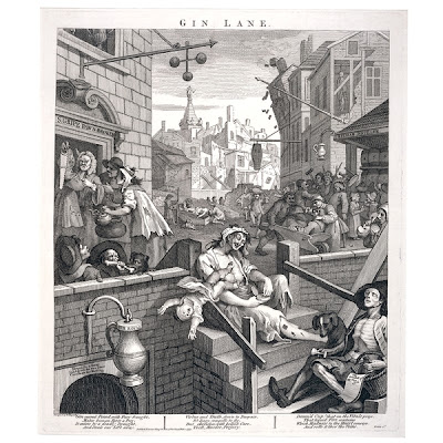 William Hogarth, Gin Lane 1751
