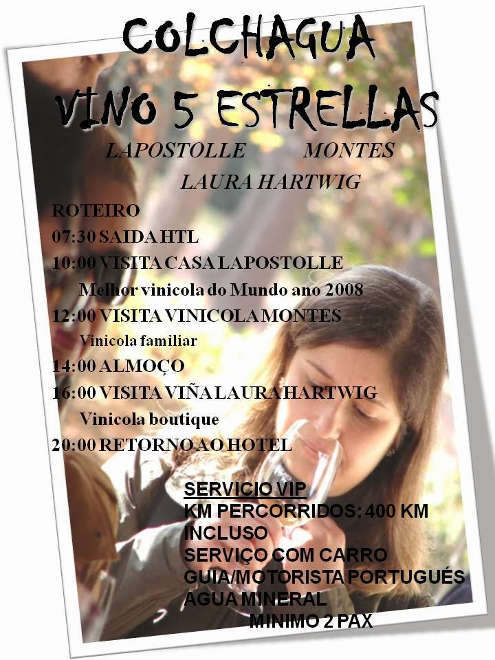 VALE COLCHAGUA 5 ESTRELAS...