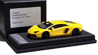 1/43 Looksmart Lamborghini Aventador LP 700-4 Giallo Orion 2011 / MR