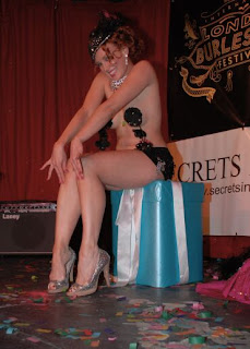 Photograph of the London Burlesque Festival 2008