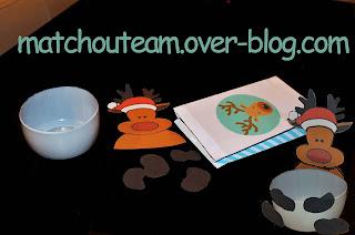 kit créatif boite à bonbon noël
