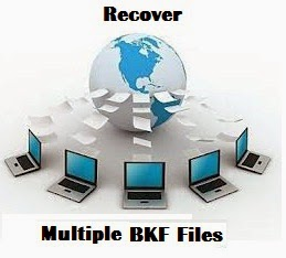 recover bkf file