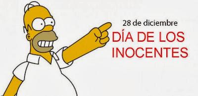 Feliz Dia de los Santos Inocentes - 28 de Diciembre