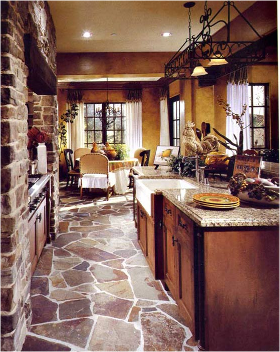 The cool Interior tuscan kitchen decor ideas pics
