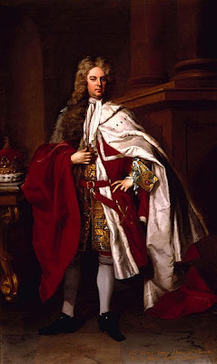 Portrait of James Brydges, Duke of Chandos by Michael Dahl, 1719