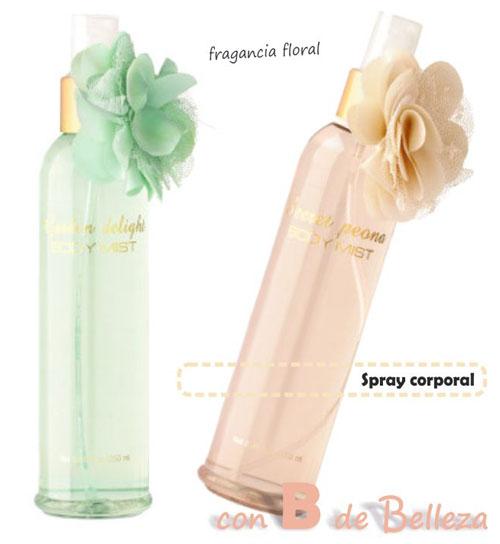 Spray corporal