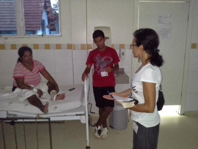 Evangelização na Fundação Hospitalar - Rio Branco-AC.