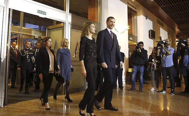 King Felipe and Queen Letizia attends tribute concert for terrorism victims