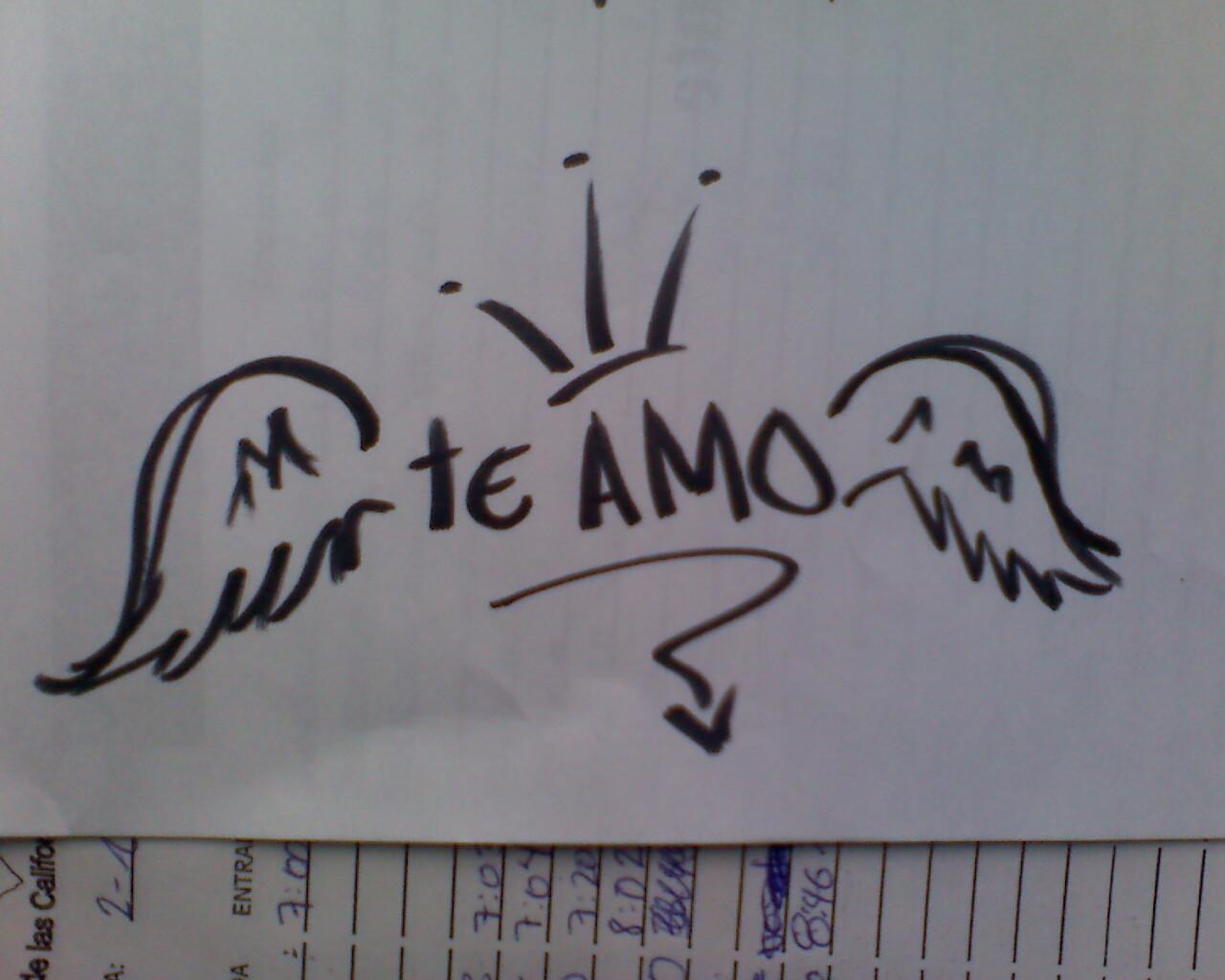 Imagenes que digan te amo en graffiti   Imagenes de amor HD