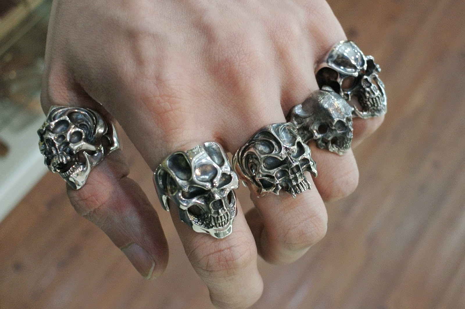 Strange Freak Designs - Skull rings