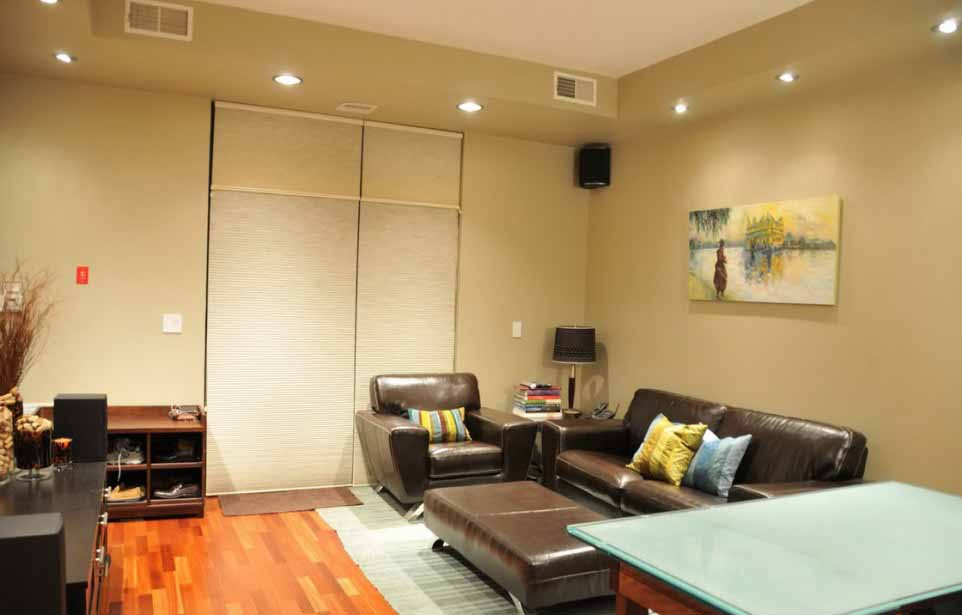 Modern Room With Recessed Lighting