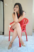 Saba Saudagar Glam photo shoot in red-thumbnail-8