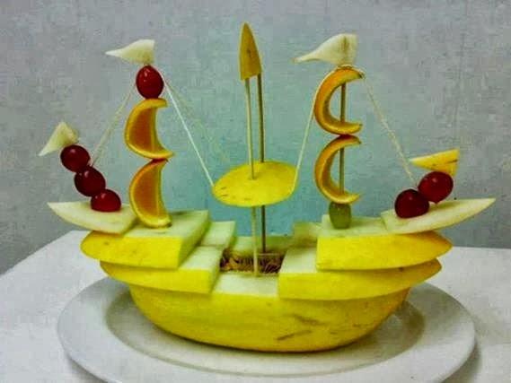Diseño de Frutas para Fiestas Infantiles - Bocadillos Sanos y ...