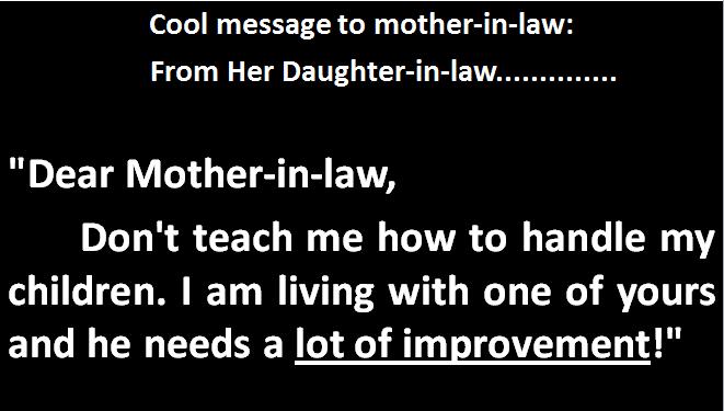 Mother daughter jokes