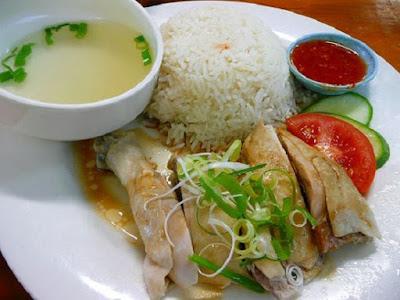 nasi ayam hainan paling enak