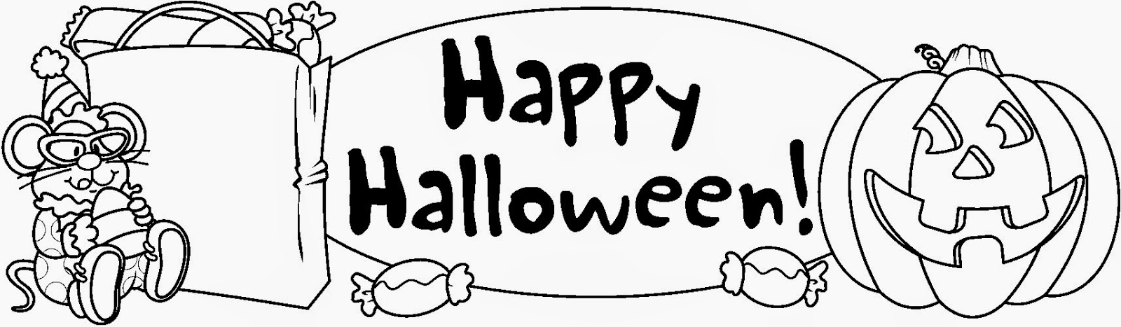 Happy Halloween 2014 Black and White Clip art PicturesHalloween Clip Art Black And White Pumpkin