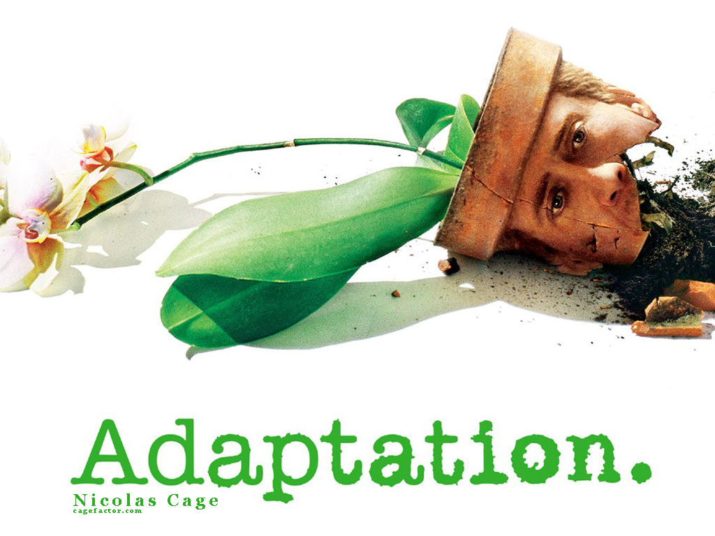 an analysis of the movie adaptation by spike jonze A powerful movie about the passions that sometimes fuel  this tension is at the heart of adaptation, a wild and inventive film directed by spike jonze and.
