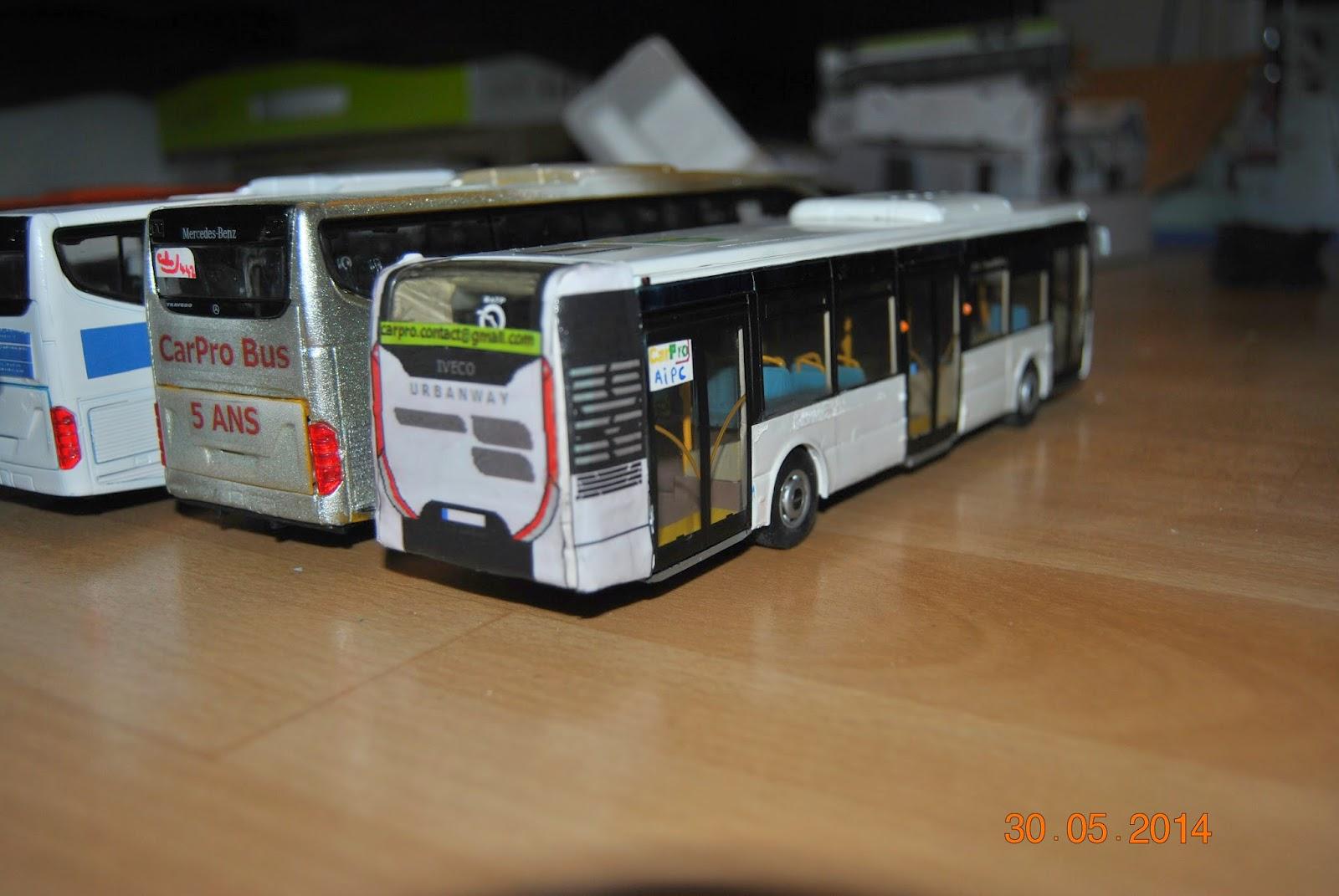 Carpro Transport Urbanway Iveco Bus Norev Ex Citelis