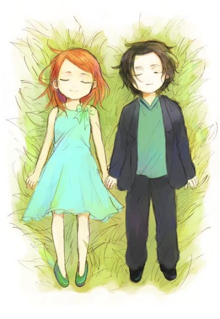 Lily Evans y Severus Snape