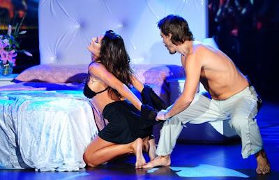 Paula y Peter en Bailando 2012