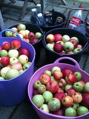 Æblemoster uden filter
