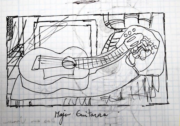 Maja guitarra