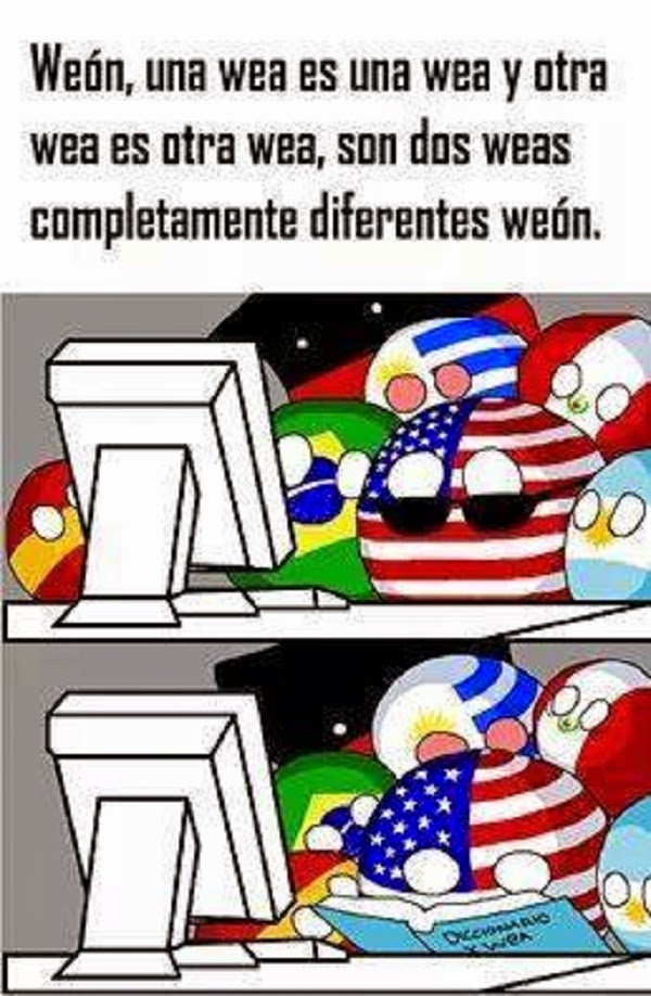 Diccionario de la wea