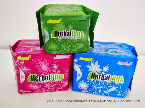 HERBAL PLUS SANITARY PAD
