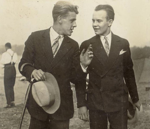 1930s Gents #vintage #fashion #men #suit #1930s #30s