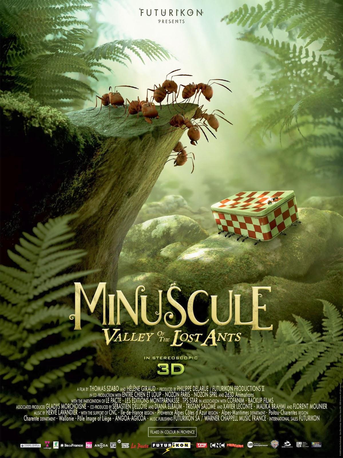 Minuscule: La Vallee Des Fourmis Perdues (2013)