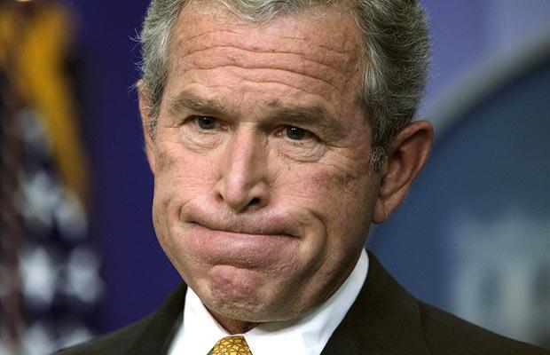 osama bin laden and bush. Bush on Osama bin Laden.
