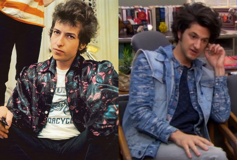 Jean Ralphio from Parks and Recreation looks just like young Bob Dylan