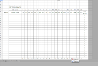 Printable Blank Spreadsheet Short o excel file for data