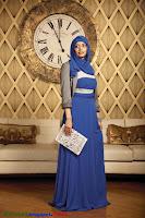 голубой хиджаб