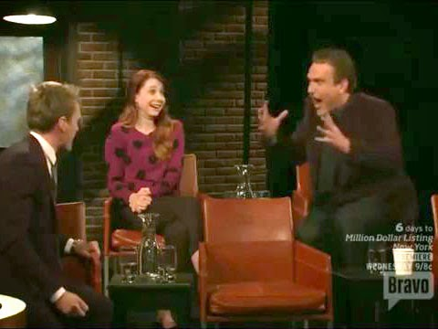 "Neil Patrick Harris and Jason Segel sing ""The Confrontation"" from Les Miz on ""At The Actor's Studio"""