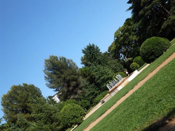 barcelone parc pedralbes
