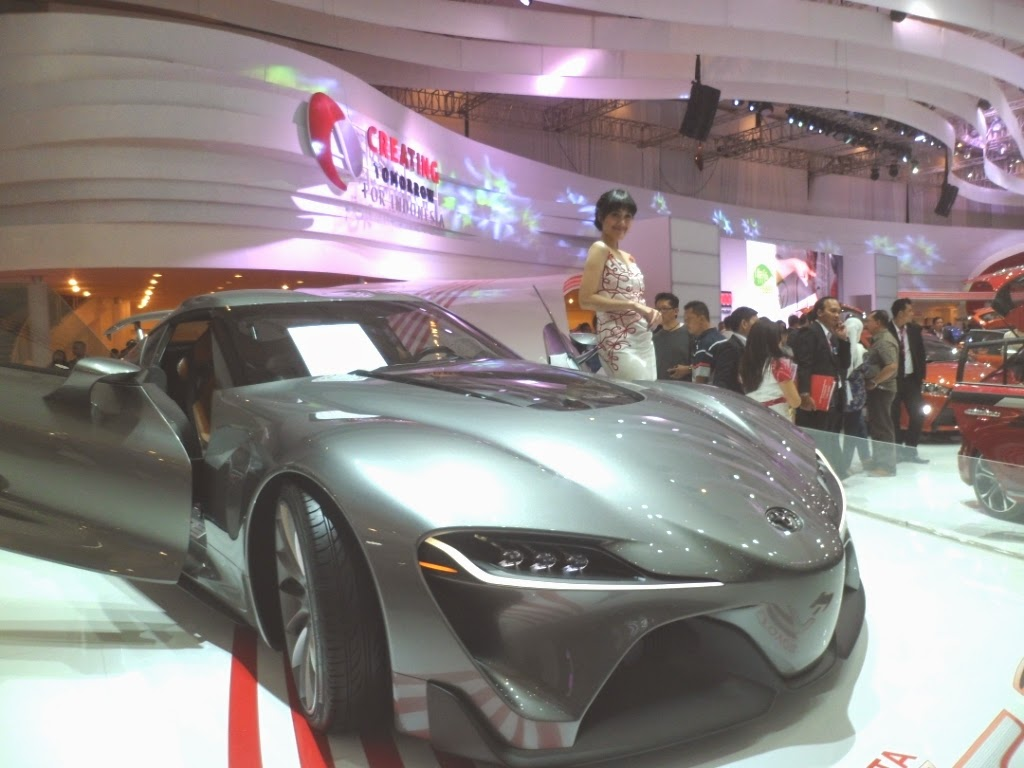 SPG Toyota FT1 Concept Cars IIMS 2014