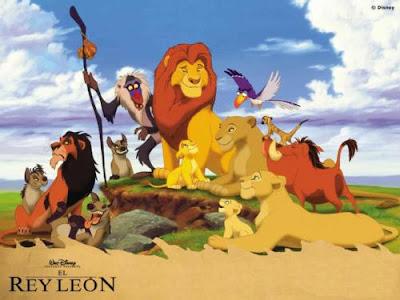 Película El rey león en 3D