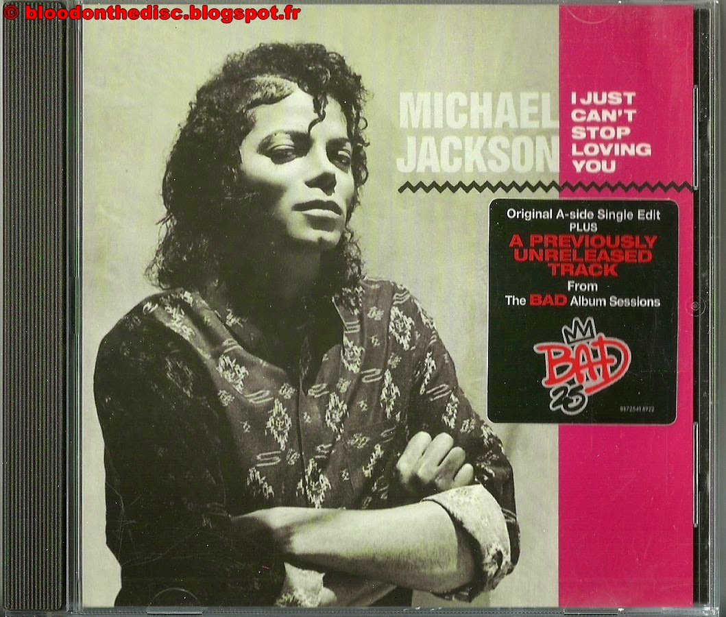I Just Can't Stop Loving You CD Single pochette avant