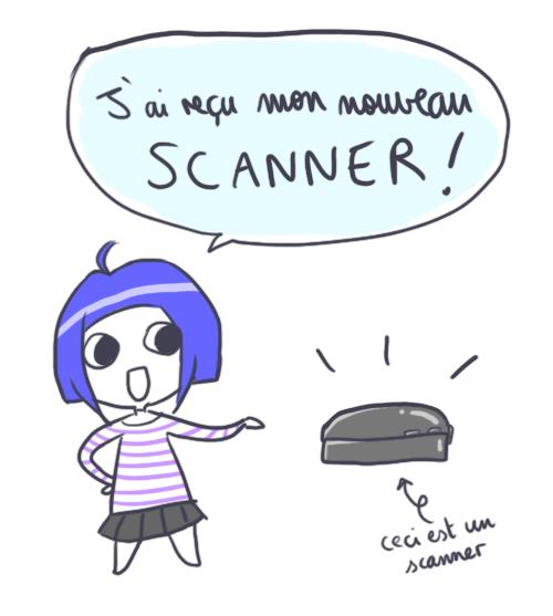 Cyellen a reçu son nouveau scanner